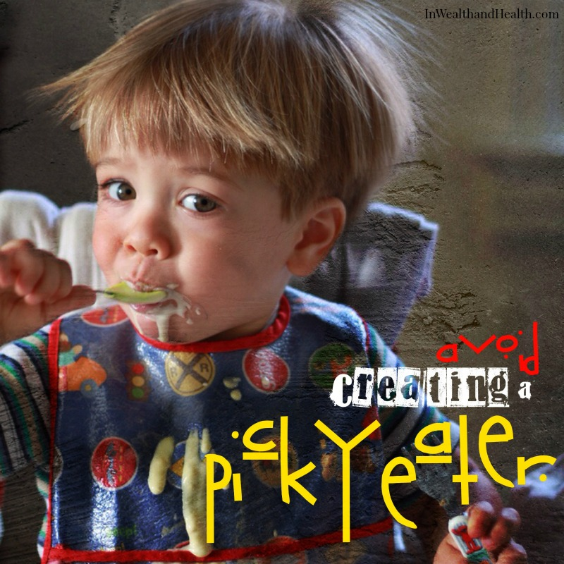 Avoid Raising a Picky eater