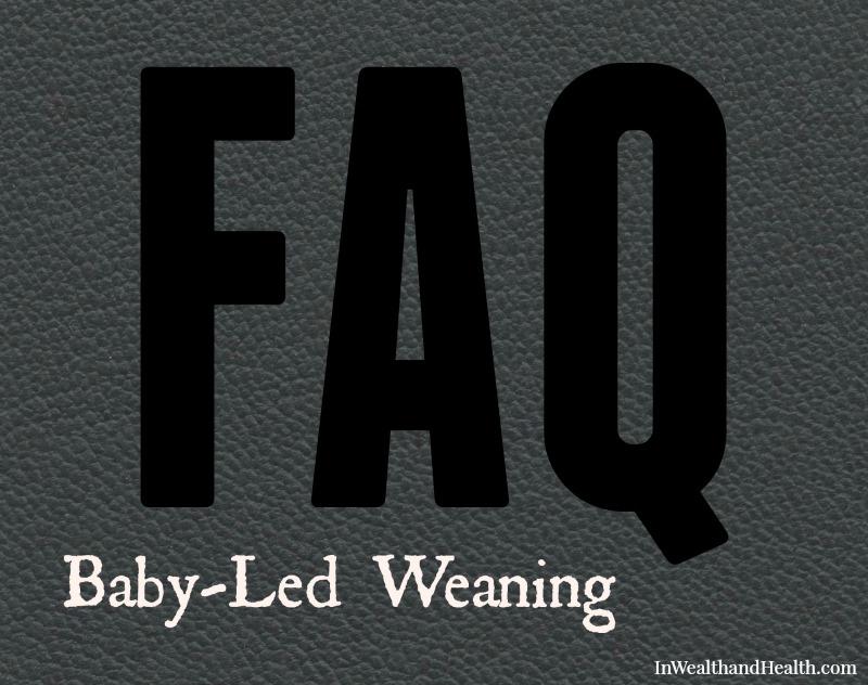 FAQ Baby-led Weaning