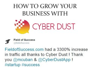 Grow your business with Cyber Dust - inwealthandhealth