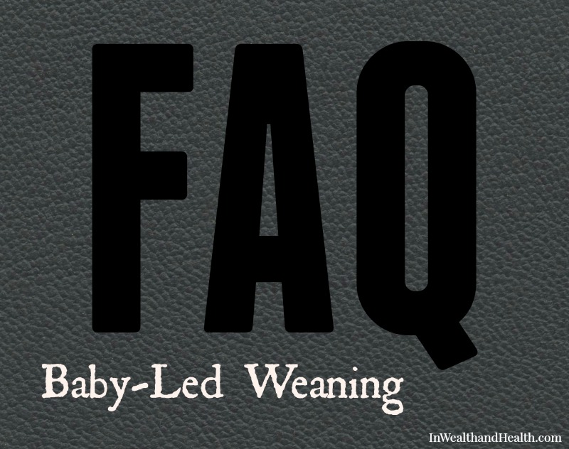 FAQ Baby-led Weaning