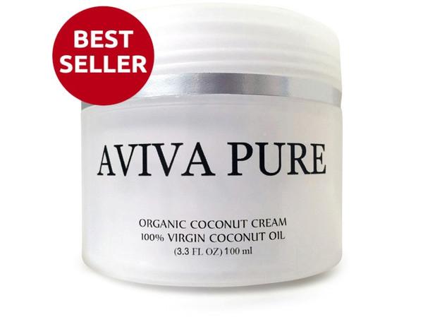 Aviva Pure Organic Coconut Cream Oil